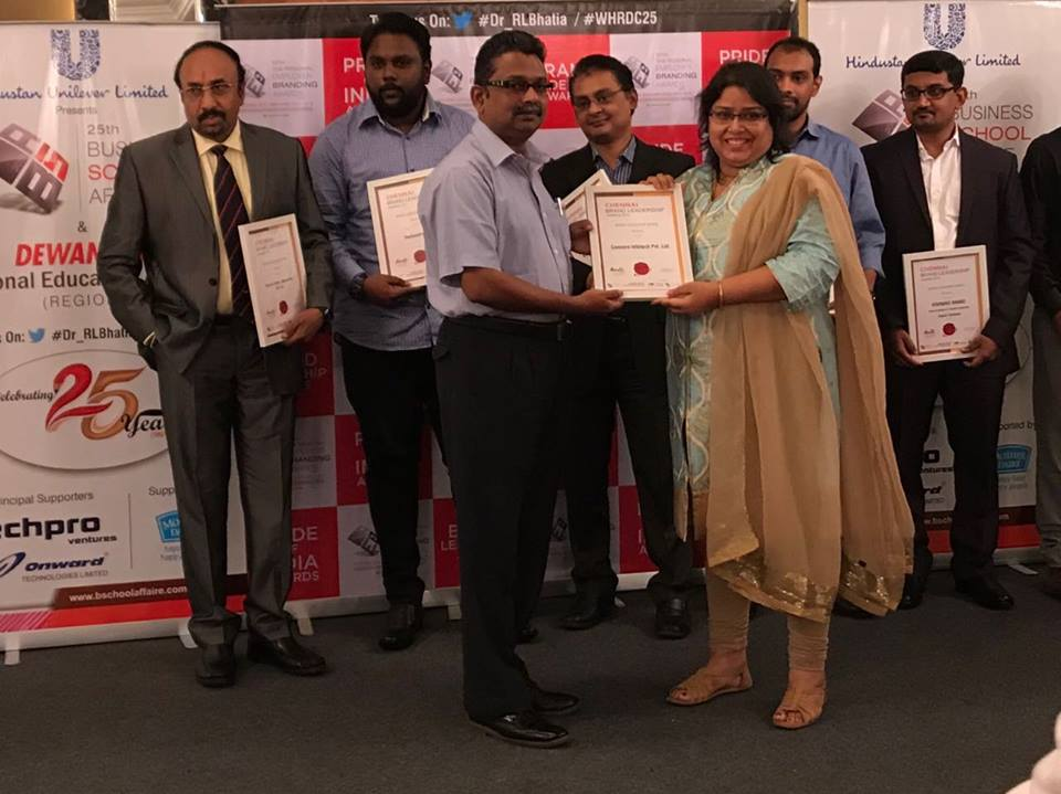 Brand Leadership Award 2017