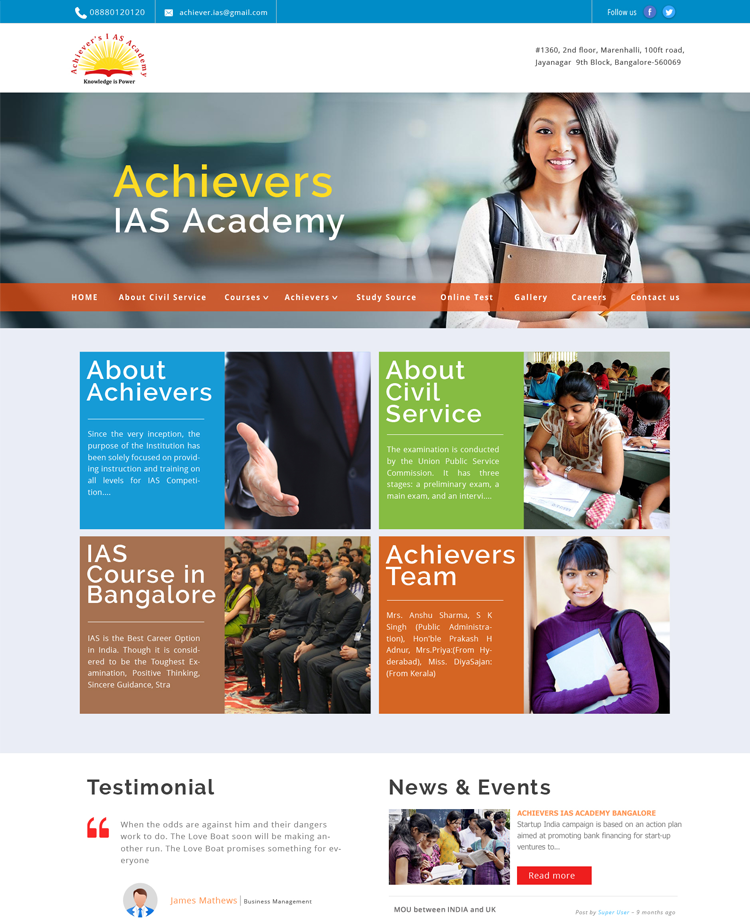 Achiever IAS Classes